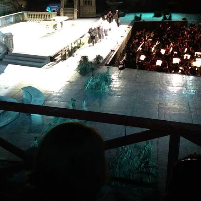 #rigoletto #inarena fine secondo atto #bis Ivo Guerra / Leo Nucci