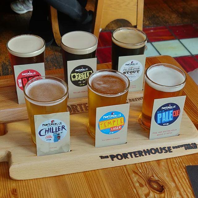 It's #tasting #time in #dublin #porter #house  #porterhouse