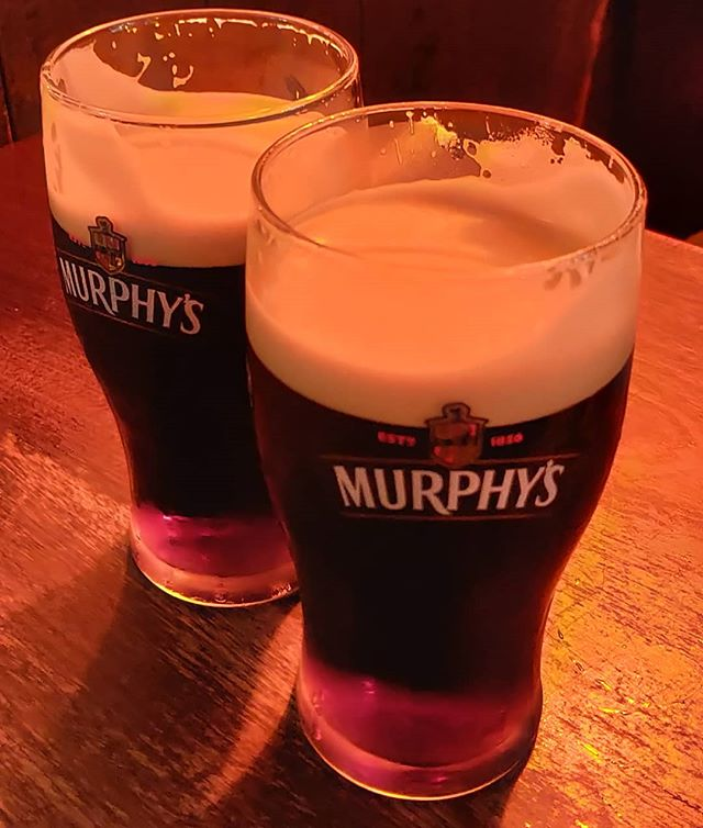 Non si vive di sola #Guinness.It's #Murphy's #time in #bunrattycastle