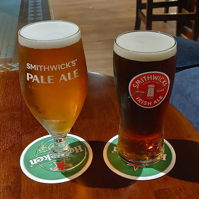 #somewhere in #Dublin it's still #smithwicks  #time (#pale #ale VS #Irish ale)